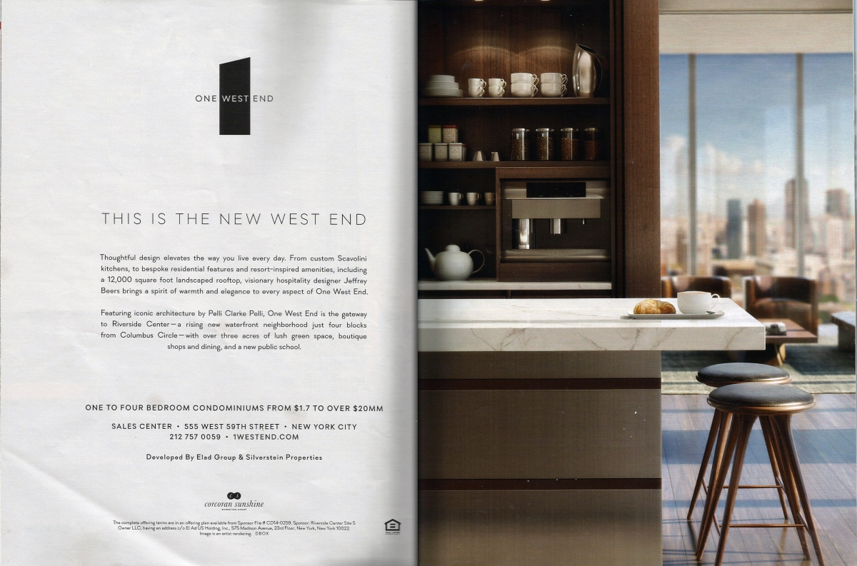 One West End - spread
